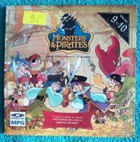 Monsters & Pirates -2 bajki na płycie DVD 22 minuty