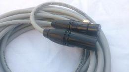 Kabel mikrofonowy xlr/xlr canon przewód klotz My206 wtyki Roxtone 5m