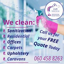 We sanitize your home/office/school