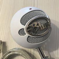 Микрофон Blue Microphones Snowball White, для ютуба, подкастов, снежок