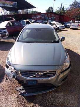 Volvo V60 D3 Stripping for spares at CRS Spares Katoen