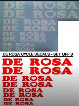 De Rosa bicycle frame decals stickers graphics kits