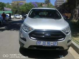 2018 Ford Ecosport 1.5 manual Diesel 42.000km silver color