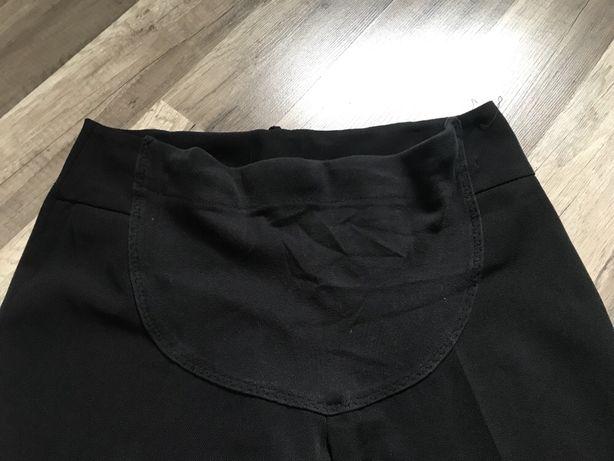 Eleganckie czarne spodnie ciążowe 40 L LewSek jak nowe szerokie Wrocław - image 2