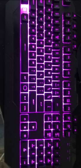 *COOLERMASTER* Keyboard and mouse