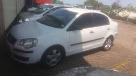 VW Polo classic leather seats, fitted radio with amp and sub new tyres