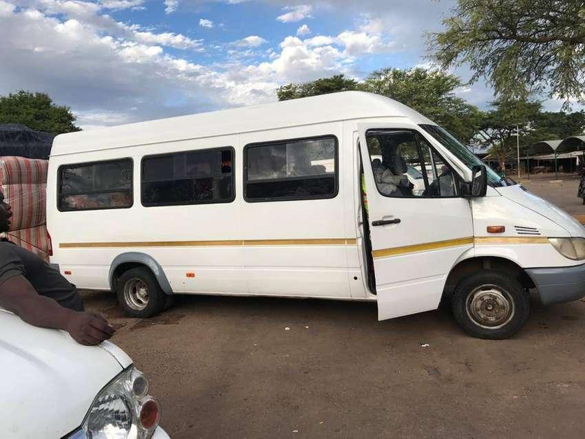 Selling my Mercedes benz sprinter with V8 engine.