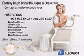 Wedding Dress Hire And Evening Wear