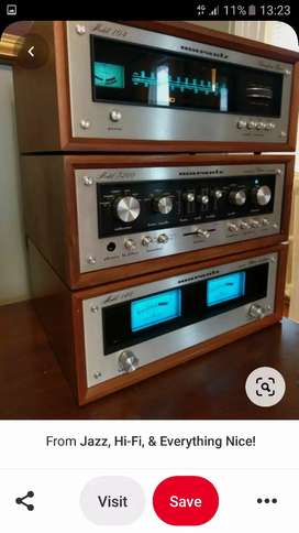Vintage hifi components wanted.