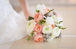 Букет на заказ. Свадебная флористика, оформление. Букет невесты