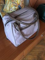 сумка Delsey розовая спортивная дорожная