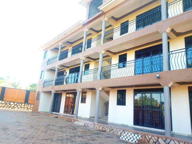 SELF CONTAINED DOUBLE ROOMS APARTMENT IN KISASI AT 350K 0
