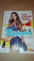 Kalendarz Twój dziennik fitness rok z Ewą Chodakowską okazja sport