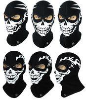 Балаклава с черепом утепленная Radical Scull маска подшлемник Польша
