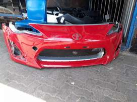 TOYOTA 86 GT FRONT BUMBER