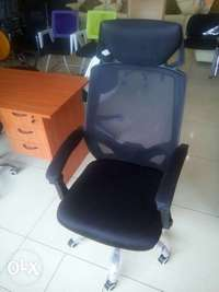 High back office chair with head rest 0