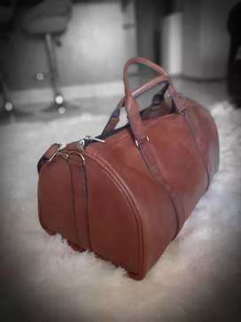 Leather Duffle For Sale