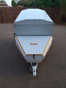 5 Foot Venter Trailer with extension box and nose cone