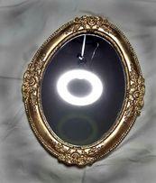 Зеркало в барочной овальной раме