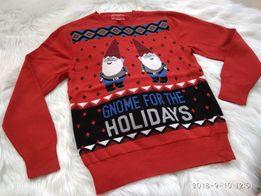 Sweterek świąteczny 8-10 lat