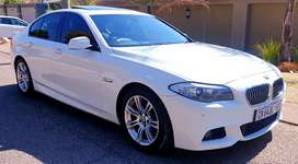 2013 Bmw 520i M Sport F10 twin turbo Finance arranged R219000
