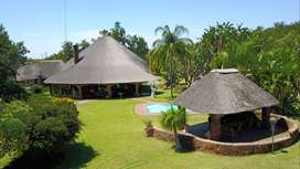 Upcoming Auction:Beautiful 49ha Farm with 6 bed thatch roof main home