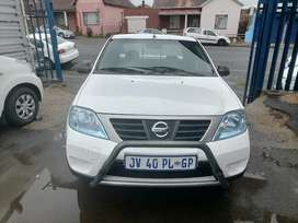 2013 Nissan Np200 1.6i Bakkie with a leather seat