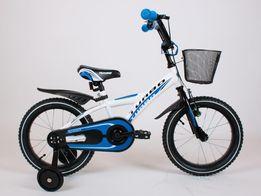 Rowerek BMX 16 cali rower niebieski dla chłopca POLSKI