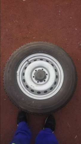 Rims and tyres for sale.