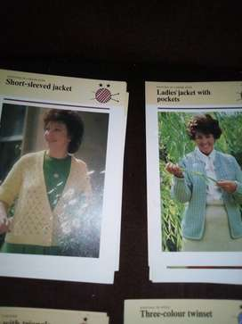 LADIES KNITTING PATTERNS LOT 6