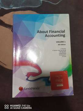 """Unisa books """"About financial accounting"""