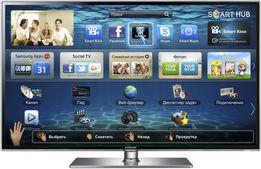 Телевизор Samsung UE46D6530WSXUA Smart TV 3D + 3D очки