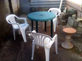 Table & Chairs .