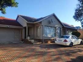 3 bedroomed house with 2 bathrooms including en- suite for  R11000