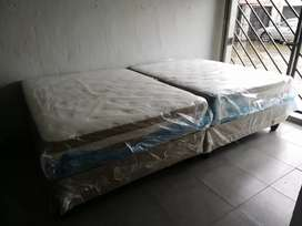 New beds