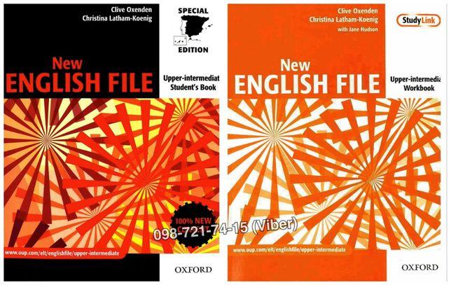 New English File - Upper-intermediate (Учебник + Тетрадь + Audio)