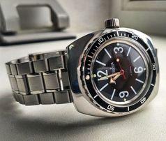 Браслет литой для часов все марки Seiko Orient Citizen, Амфибия, Casio