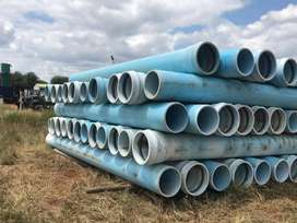 180 x 6m, 450mm class 16 MPVC Pipe never used