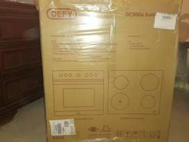 Defy DCB006 Built in oven and hob set