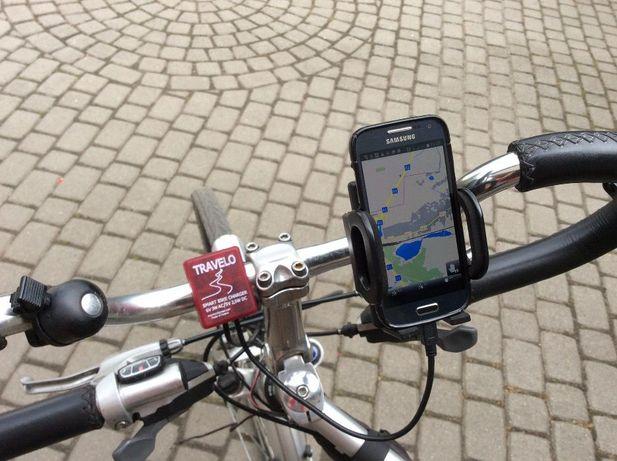 Travelo - rowerowa ładowarka smartfona zasilana prądnicą Shimano Gliwice - image 3