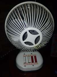Image of Vintage fan and heater