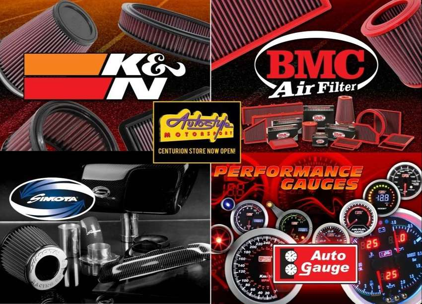 Performance air filters K&N, BMC, and Autoguage guages 0