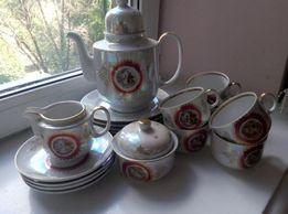 Чайно-кофейный сервиз «Мадонна» ГДР (Henneberg porzellan 1777)
