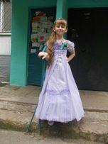Лиловое платье для выпускного