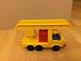 Lego duplo samochód z drabiną - Unikat!!!
