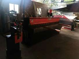 Cut off machine and 2 benders
