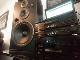 ONE OF A KIND BEAUTIFUL AND IMPRESSIVE TECHNICS SOUND SYSTEM