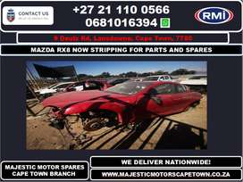 MAZDA RX8 STRIPPING FOR SPARES