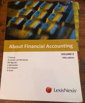 About Financial Accounting Volume 2 5th Edition