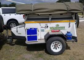 Challenger Off Road Trailer with Roof Top Tent
